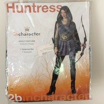 Huntress Medieval Warrior Hunger Game Halloween Costume Adult M 14+ InCh... - €20,74 EUR
