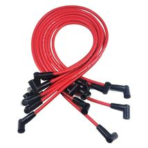 SBC CHEVY 283 327 350 383 HEI Distributor 8mm SPARK PLUG WIRES UNDER THE EXHAUST image 9