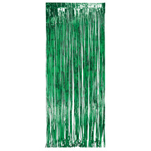 8ft x 3ft Door Foil Fringe Green/Case of 6 - £48.32 GBP