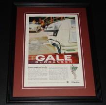 1959 Gale Buccaneer Motor 11x14 Framed ORIGINAL Vintage Advertisement - $46.39