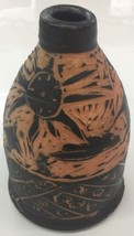 Vintage Pottery JUG Vase Signed STANDING TALL IN THE SHADOWS signed Sepr... - $93.49