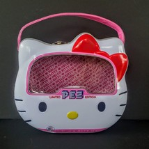 Hello Kitty Pez Metal Candy TIN Limited Edition 2014 Sanrio EMPTY Lunch ... - $9.88