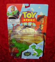 Toy Story Action Figure Rex Glow in the Dark Parts Disney Think Way Toys 62803 - $12.00