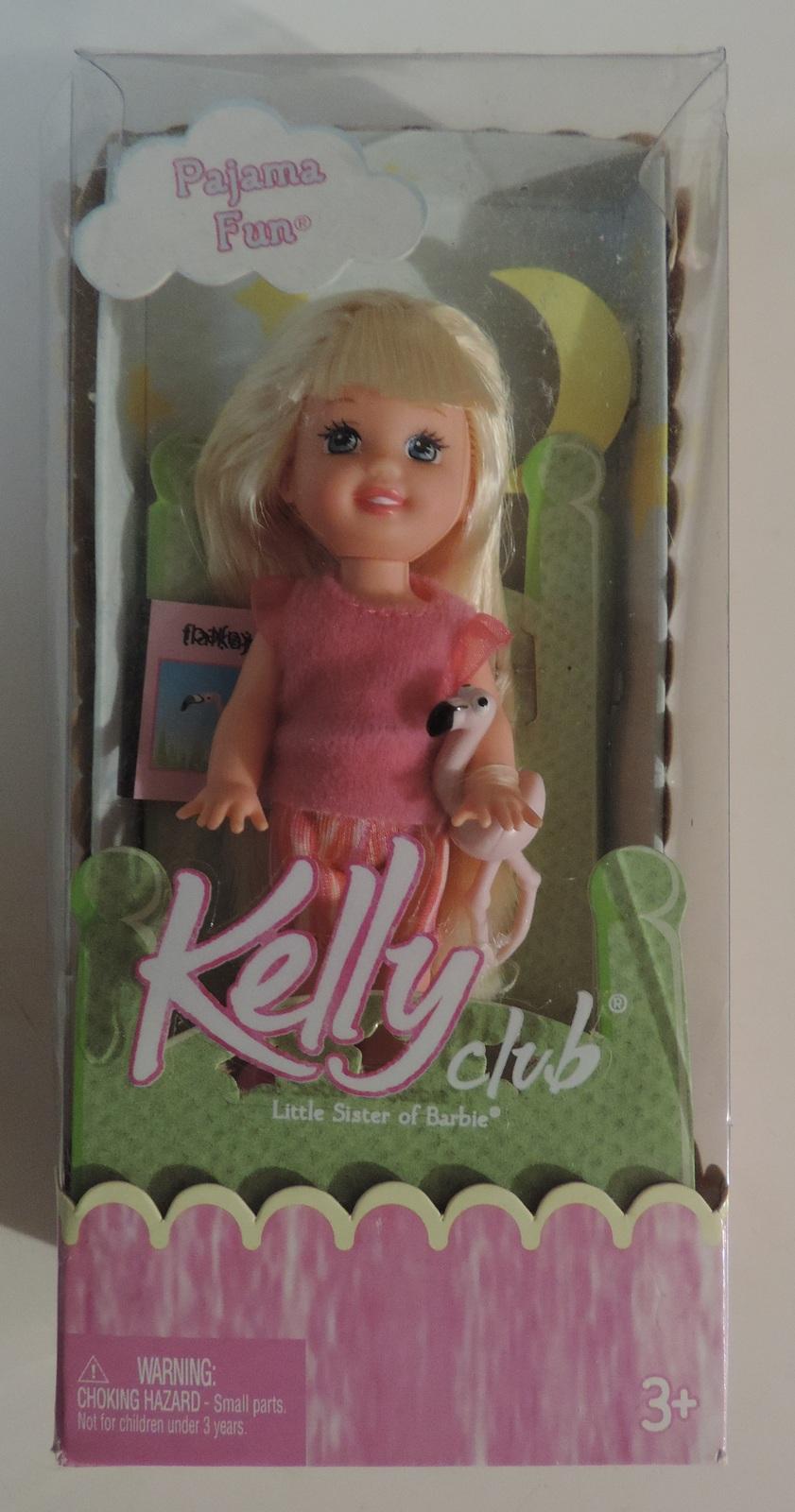 Barbie Pajama Fun Kelly club doll ( Monster High Bratz Liv ) - New Mattel