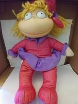 """Rugrats Angelica Pickles  PJ'S 12"""" Plush Dol Vintage 1997 Viacom Mattel - $9.25"""