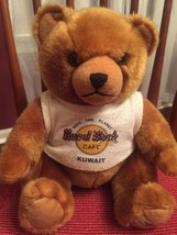 Hard Rock Cafe Kuwait Plush Harrington Bear  - $39.59