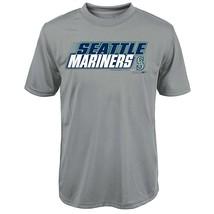 "MLB Seattle Mariners Youth Boys 8-20 ""Kinetic Team & City"" Tee-L (14-16) - $16.45"