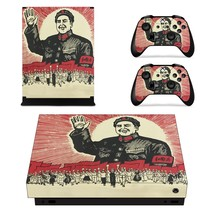 Chinese Revolution xbox one X skin decal for console and 2 controllers - $15.00