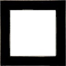 Matte Black wooden frame opening 7.5 x 7.5 Mill Hill  - $20.25