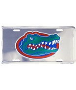 Florida Gators Chrome License Plate Auto Tag Sign - $6.95