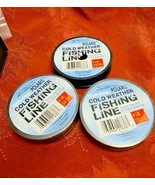 South Bend Cold Weather Fishing Line 4 Lb Test 220 Yds 2 Full Spools, 1 Opened. - $5.99