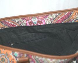 Howards Product Number 68985 Large Shoulder Bag Multi Color Paisley image 5