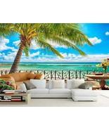 3D Hawaii cloud water763 Paper Wall Print Decal Wall Wall Murals AJ WALL... - $34.47+