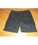 Girls Size 8 Faded Glory Solid Black School Uniform Summer Walking Short... - $9.00