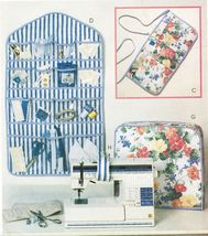 Sew Kit Accessories Serger Cover Apron Organizer Pincushion Chair Bag Pa... - $11.99