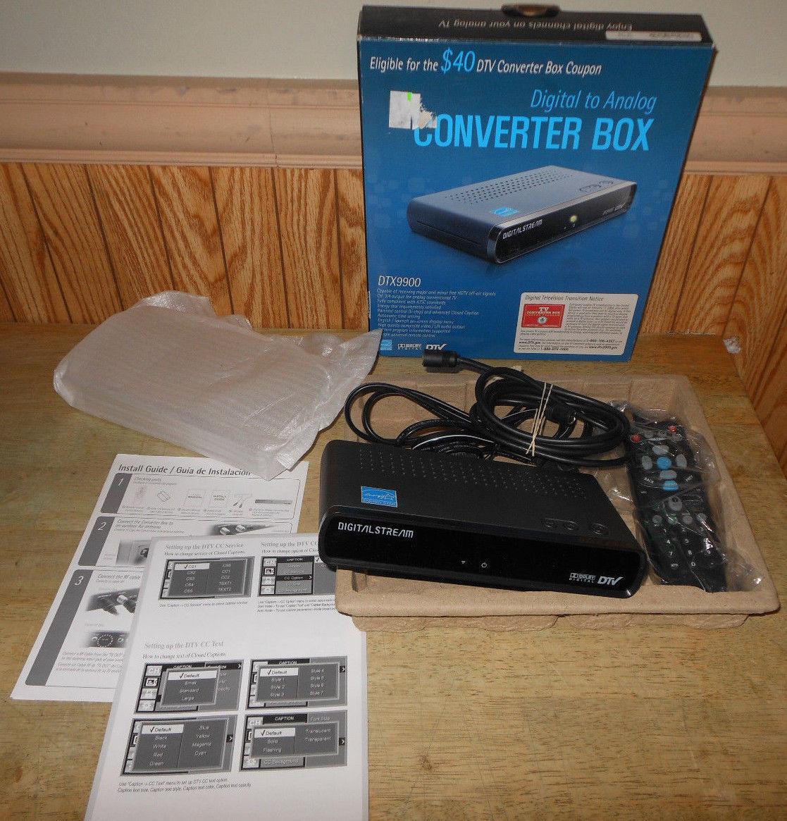 digital stream digital to analog converter and 12 similar items rh bonanza com Dsconverter Remote Codes digital stream converter box setup