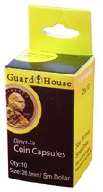Guardhouse Small Dollar 26mm Direct Fit Coin Capsules, 10 pack - $6.79