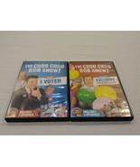 Lot 2 THE CHOO CHOO BOB SHOW DVD VOLUME 1 & 4 I VOTED & BALLOONS OVER TI... - $14.50
