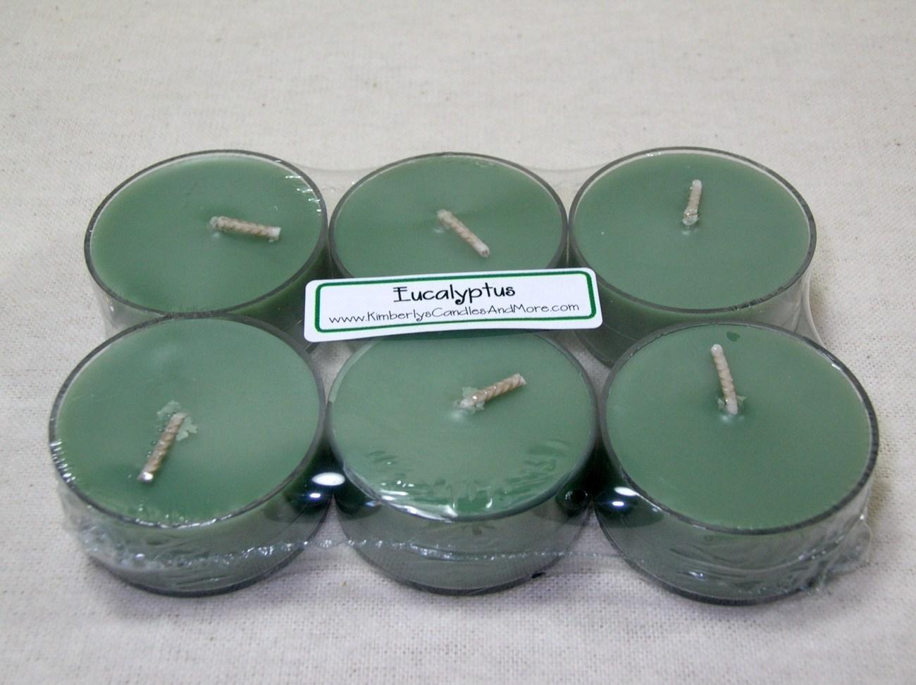 Tealight eucalyptus