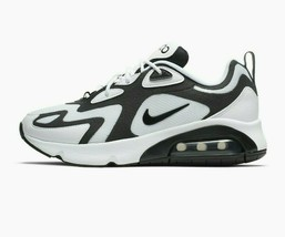 Nike Women's Air Max 200 Shoes  NEW AUTHENTIC  White/Black AT6175-104 - $100.00