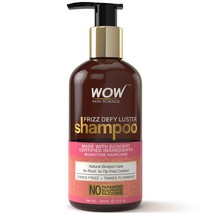 WOW Frizz Defy Luster No Parabens, Sulphate & Silicone Shampoo, 300ml - $20.99
