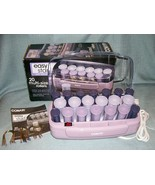 Conair Easy Start Hot Roller Set- Model HS11-20 Rollers and Clips EXC pr... - $13.95