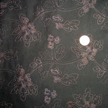 Vintage Cotton Floral Embroidered Floral Cotton... - $85.00