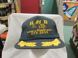 Trucker Hat Baseball H & R PLUMBING Cool Style Snapback Retro - $39.99