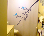 Birds on a branch shower curtain 2  60 thumb155 crop
