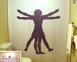 Vitruvian man shower curtain 2  75 thumb155 crop
