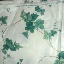 Vintage Waverly English Ivy Garden Screen Print... - $25.00