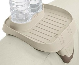 Standard Size Beverage Containers Jacuzzi Tub Relax Snack Tray Spa Cup H... - $15.62