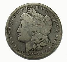 1878 CC Morgan Silver Dollar Very Good - $164.50