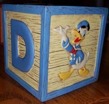 """Walt Disney Donald Duck Building Block Ornament 2 1/4"""" - $15.63"""