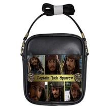 Captain Jack Sparrow/Johnny Depp Photo Custom Girls Sling Bag Handbag - $18.00