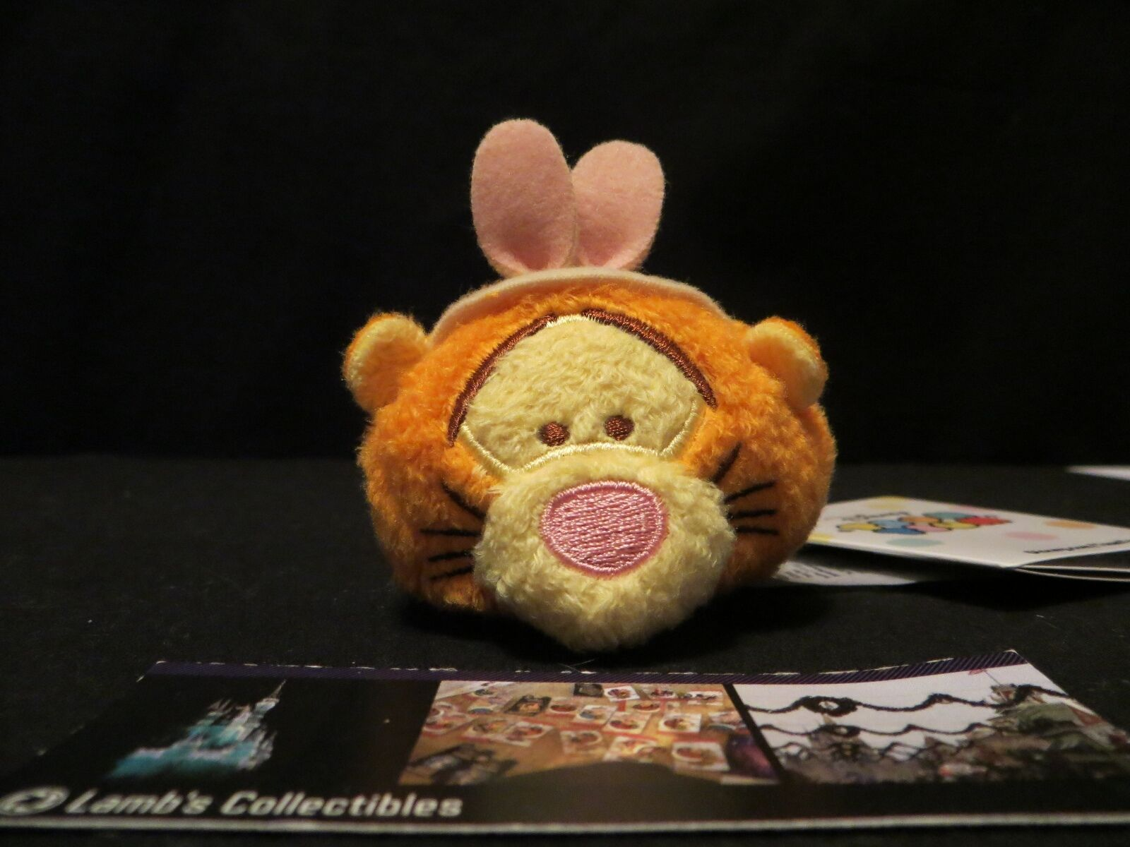 "Primary image for Disney Store Tigger Tsum Tsum Easter Edition 3.5"" Plush Mini toy USA stuffed"