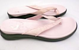Kenneth Cole Reaction Pink Razzle Dazzle Thongs Flip Flops Sandals Womens 10 image 2