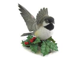 Lenox Chickadee Figurine Fine China Porcelain Garden Bird Collect  - $25.68
