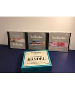 GEORG FRIEDRICH HANDEL 3 CD SET VIENNA MASTER SERIES PILZ DDD WATER MUSI... - $17.77
