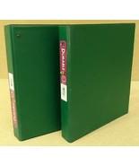 2 Avery Durable EZ-Turn Ring Binders 696825 Green 1 in. - $13.78