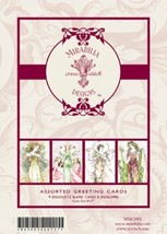 Fairy Greeting Cards 1 Mirabilia Notecards set 12 cards with envelopes - $12.60