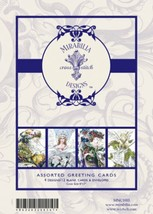 Holiday Greeting Cards 1 Mirabilia Notecards set 12 cards with envelopes - $12.60