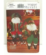 VOGUE CRAFT Pattern Vtg 97 #9685 Linda Carr Christmas Elves Santa Dolls ... - $24.66
