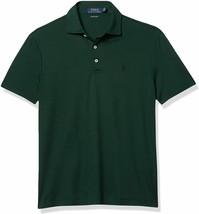 Polo Ralph Lauren GREEN PINE Soft Touch Custom Slim Fit Polo Shirt, US M... - $61.84