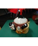 Great Collectible SHAWNEE Pottery COOKIE JAR...JoJo the Clown & Juggling... - $49.09