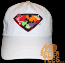 Hare 7 MJ SpaceJam Dad Hat Made to match shoes, custom print - $14.99