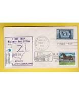 FIRST TRIP H.P.O. AKRON & COLUMBUS OHIO SEPT 20 1952 TRIP 1 - $1.98