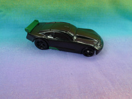 Hot Wheels Mattel 2011 General Mills Black / Green Pullback Action Plast... - $1.56