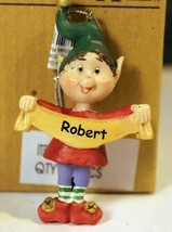 Christmas Ornaments WHOLESALE- Russ BERRIE- #13775 -'ROBERT'- (6) - New -W74 - $5.83