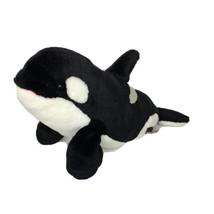 Wild Republic Orca Whale Plush Stuffed Animal Toy  14 Inch 2010 - $12.59